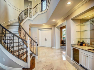 airy hall way builder home