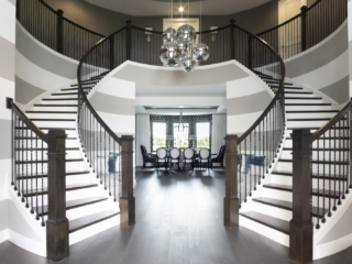 gorgeous statement entry way