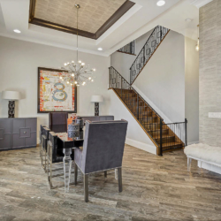 new construction dining space